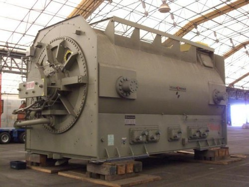 on gas turbine generator